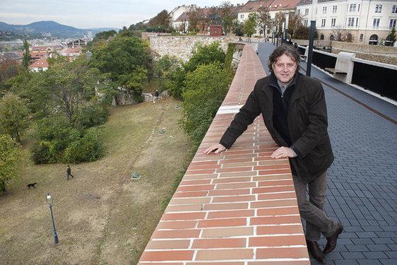 Bojár Iván András művészettörténész, író publicista - fotó: est.hu