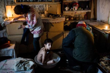 Falusi valóság Nyársapát térségében (fotó: Stiller Ákos)