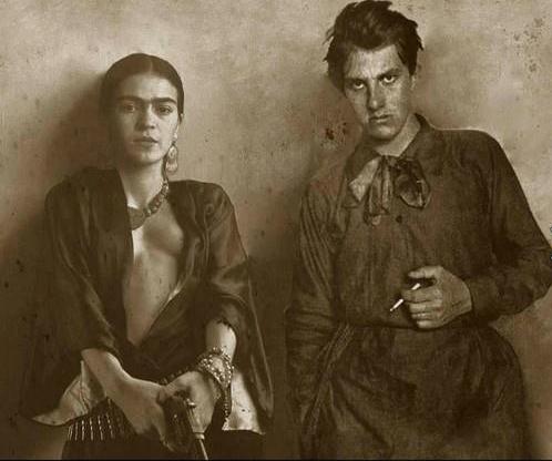 Frida Kahlo és Vlagyimir Majakovszkij