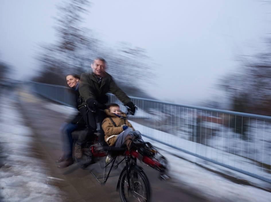 Simon Wintermans - a biciklizó holland - Fotó: Darabos György
