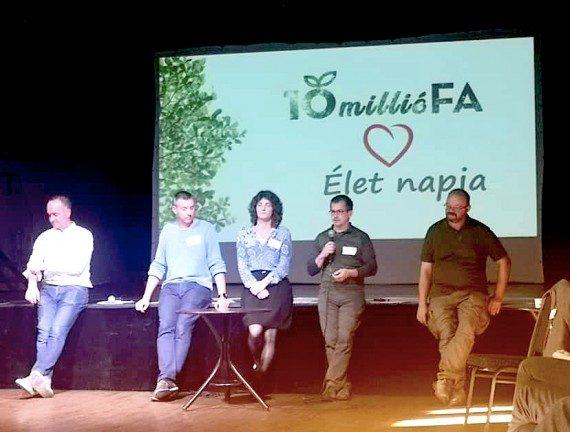 """A """"10 millió Fa"""" környezetvédelmi szervezet II. Országos Találkozója - fotó: Pongrácz Anita és Fülöp Norbert"""