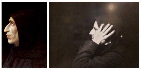 Fra Bartolomeo és Horváth Győző képe