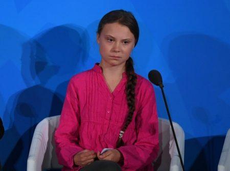 Greta Thunberg - fotó Vouge