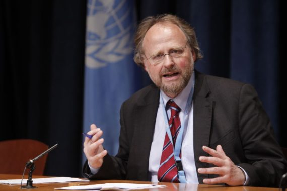 Heiner Bielefeldt, Special Rapporteur on Freedom of Religion or Belief.
