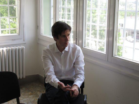 dr. Czeglédy Csaba ügyvéd a szegedi börtönben. Fotó: Veres Dávid