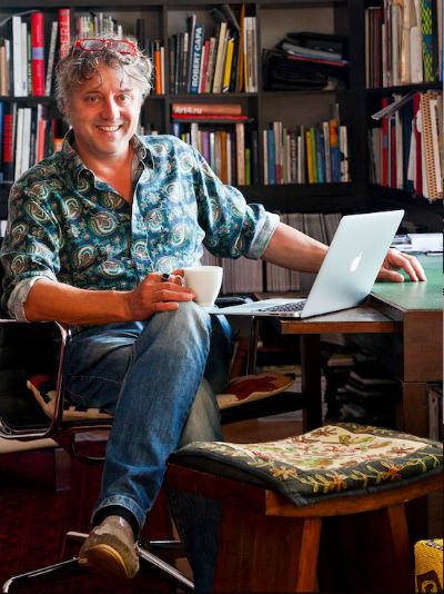 Bojár Iván András művészettörténész, író, publicista - Portréfotó: Erdőháti Áron