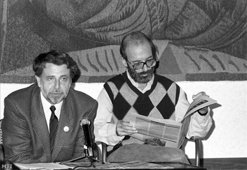 Kőszeg Ferenc és Kis János