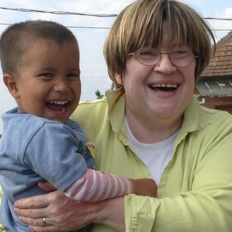 Kiss Anikó a Szociális Csomagküldő Mozgalom vezetője