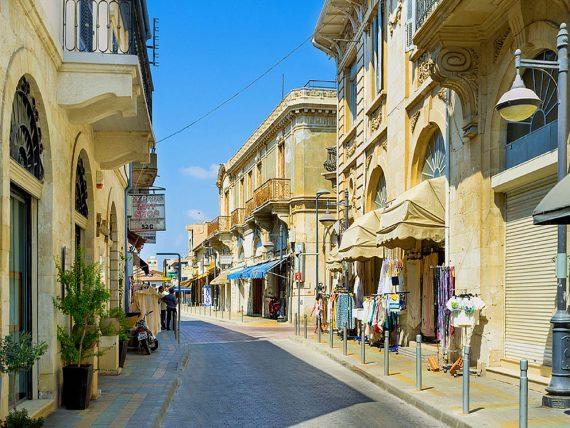 Sétálóutca Limassolban