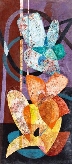 BOJÁR IVÁN (1924 - 1995) Fénytől kinyíló formák, 1960