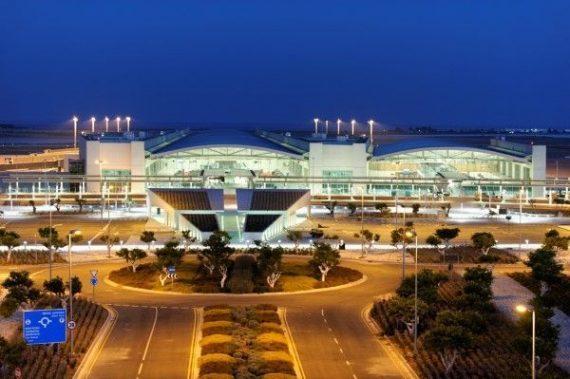 Larnaca reptér - Ciprus