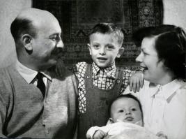 A Donáth család gyermekei: László és Ferenc