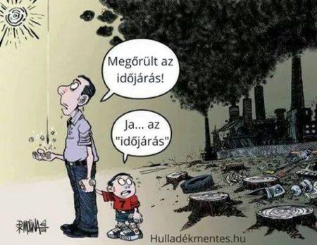 Megőrült az időjárás? (Forrás: hulladékmentes.hu)