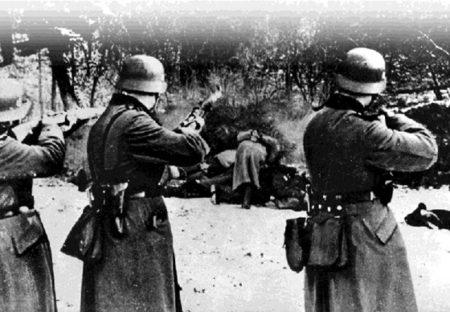 A dobozi romák kivégzése 1944. október 5-én