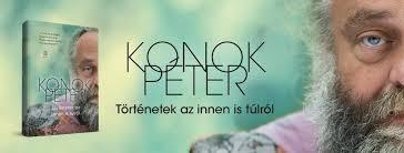 Konok Péter könyvborító