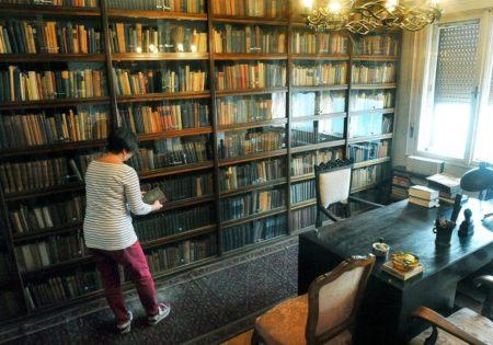 A dolgozószoba eredeti állapotban várja a látogatókat. Kérdés, hogy meddig Földi D. Attila / Népszabadság