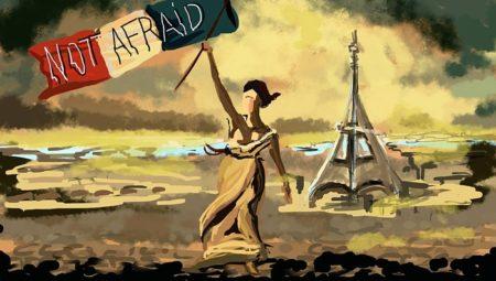 A novemberi 13-i párizsi terrortámadást követő szinte azonnali válasz a kreatív közösségtől (theguardian.com)