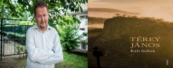 Térey János és könyve - portréfotó: Hír24